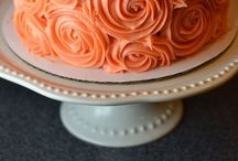 "Cakes ("",) / by Lynda Slattery"