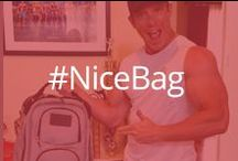 Nice Bag™ / Because a stylish bag and a fit body always gets noticed. #nicebag