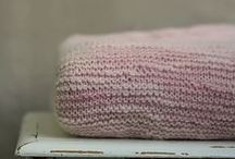 Pinkish knit & crochet
