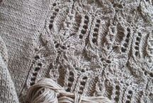 Neutral knit & crochet