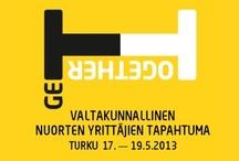 GeTTogether 2013 / Nuorten yrittäjien valtakunnallinen verkostoitumistapahtuma!  http://gettogether.fi