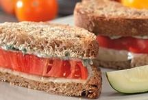 Food: sandwiches / by Makaela