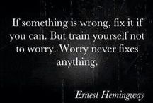 Problems & Worry / Quotes about problems and worry