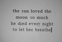 live by the sun love by the moon / ☮☮☮ / by Ivette