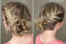 My Crowning Glory / Hairstyles, hair ideas, updos, hair inspiration