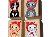 Cats / Art, photos and all things cats! / by Amy Silvey