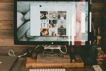 Workspace Inspiration / by Glitter & Pearls