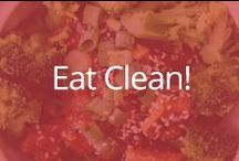 Eat Clean! / Healthy foods & recipes! / by fitmark