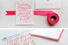 Typography + Letterpress / by genevievå *