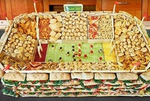Snackadiums! / Introducing the almighty Snackadium - a stadium made from snacks and apps! We made one, and then we asked some of our blogger friends to create one, too. / by Pillsbury