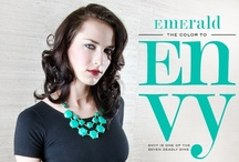 #Emerald Envy / #Emerald is the #coloroftheyear and we've got you covered with gorgeous green gems and jewels!
