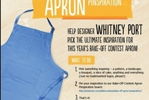 Bake-Off Apron Pinspiration / This year's official Bake-Off Contest apron will be designed by Whitney Port - and we're looking to you to give her a little inspiration.  / by Pillsbury
