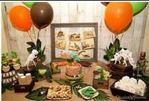 Party - Boys Theme Party Ideas / It's all about party ideas for the boys.  With this selection of boys birthday party ideas there will also be ideas free flowing including party ideas, themes, activities and games.  Tips, tricks and inspiration.