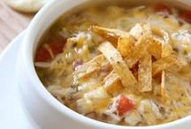 YUMMY SOUP DU JOUR  - COMFORT FOOD / by Sharon Hoerner
