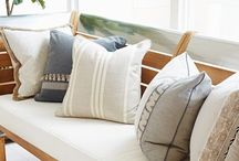Decorative Accessories / Pillows, throws, vases, decor, and all the details that make a house a home!