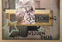 Scrapbook pages by Renee  / Things Renee has made!