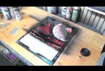 Spray paint art / Spray paint art / by Stacia Sikorski