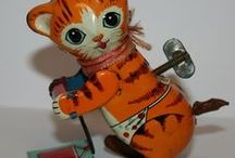 WIND-UP TIN TOYS / by Sharon Hoerner