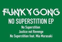F U N K Y    G O N G / 1. What would you call the kind of music you play?    This time I prepared a very special and new style Funky Gong rock set influenced by the 50s, 60s, 70s, 80s, 90s classic rock and I play mash up electro style. Everything mixed up together! I use pioneer FX for looping, beat krush and delay filters etc… Sometimes I will play electric guitar to give a more live emotional feeling!  http://funkygong.weebly.com Book today : silvie@mammasitta.com