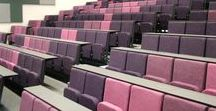 Lecture Theatre Seating / Evertaut's range of seating for lecture theatres in schools, colleges and universities.