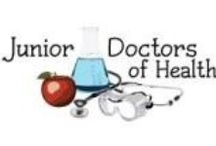 """Junior Doctors of Health / The vision of this program is to educate children about healthy choices, empower individuals to make change, and eliminate disparities in health and education.  The program mission is to prevent childhood obesity in underserved populations by creating """"Junior Doctors of Health,"""" children empowered to take control of their own health and educate their families, friends, and communities on the importance of healthy eating and exercise. Scotty Buff, PhD is the project co-investigator."""