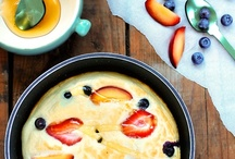 breakfast / ideas that can be made in larger quantities, but are cute and delicious.