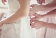 W♀- Bride getting ready / by Hana Love