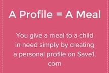 Coupons Coupons Coupons / Save Money. Save Lives! Save1 provides coupons and special offers from thousands of stores. Each time a coupon or offer is used, we provide a meal to a child in need. / by Save1.com