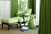 Emerald, Pantone Color of the Year / Green home decor