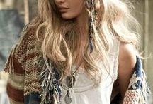 Bohemian Chic / Bohemian and Free-Spirited Fashion & Inspiration