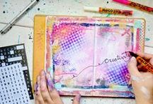 Mixed Media Art journaling / Inspiration