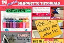 Silhouette and Cricut Ideas / Ideas and inspiration for silhouette, cricut and other machines