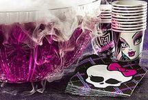 Monster High Party / Monster High themed birthday party for my soon-to-be six year old.