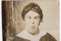 ∴ vintage laugh photos