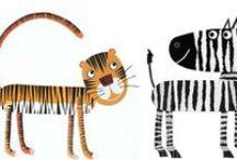 Jungle Animals / by Ros Harriott