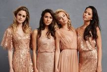 Donna Morgan Serenity Collection / Donna Morgan's Serenity bridesmaid collection is full of new colors and silhouettes that your bridesmaids will love! Think tulle bridesmaid looks, sequin gowns, and pretty prints for a modern and beautiful bridal party!  http://www.donna-morgan.com/donna-morgan-collection/serenity-collection / by Donna Morgan