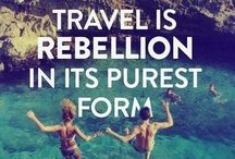 Wanderlust / Travel quotes