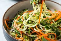 Recipes, Spiralizer