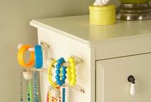Jewellery storage / by The Organised Housewife