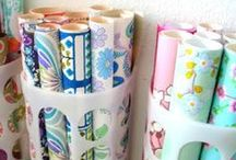Gift wrapping station / by The Organised Housewife