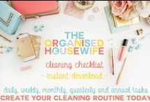 Cleaning / by The Organised Housewife