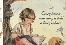 Fairies / Fairies are invisible and inaudible like angels.  But their magic sparkles in nature.  ~Lynn Holland