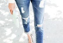 Stylish Denim and Jeans / by Zinya