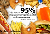 Nutrition Infographics / All kinds of infographics with nutrition data.