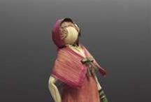 corn husk dolls / dolls
