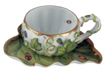 Teapots, Cups and Saucers