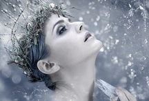 """Snow Queen / Tribute to the girl that dreamed of being a Snow Queen; a story worthy of its own board. When I was little, I pretended to be the Snow Queen and blew my """"frosty / by Kristine"""