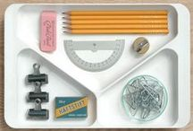 """STATIONERY / """"Stationery has historically pertained to a wide gamut of materials: paper and office supplies, writing implements, greeting cards, glue, pencil cases and other similar items. It has been an important part of good social etiquette, particularly since the Victorian era. The usage and marketing of stationery is a niche industry that is increasingly threatened by electronic media."""""""