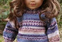 American Girl / Bitty Baby - Knitting / by Marion White