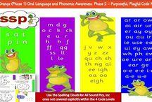 SSP - Reading, Writing, Spelling / Speech Sound Pics approach to reading, spelling, writing